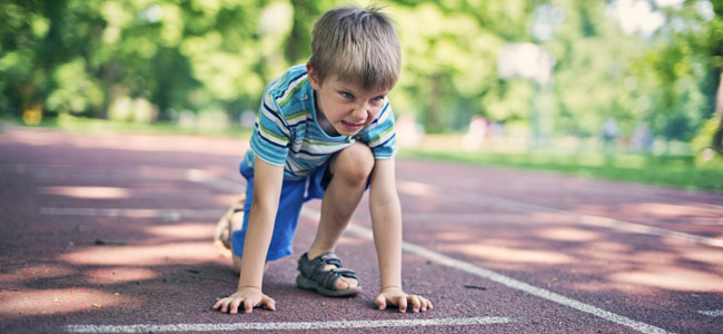 Niños con frustración en el deporte