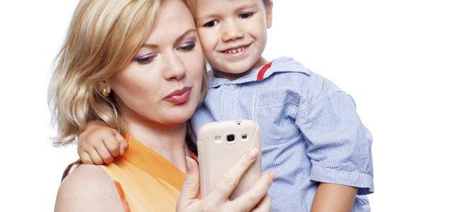 Grupo de WhatsApp de madres