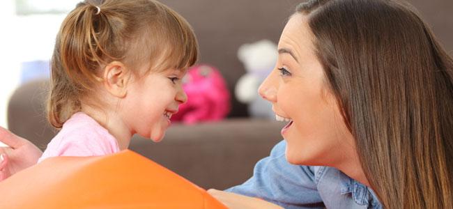 Hablar bonito a los niños