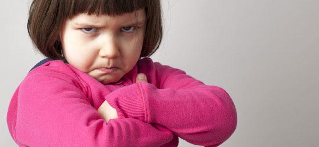 Cómo hablar con un niño enfadado