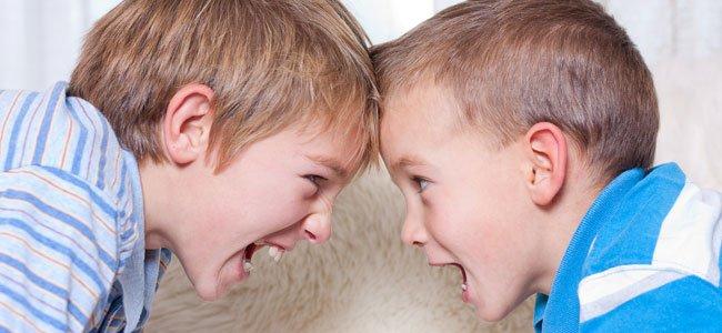 Celos y peleas entre hermanos