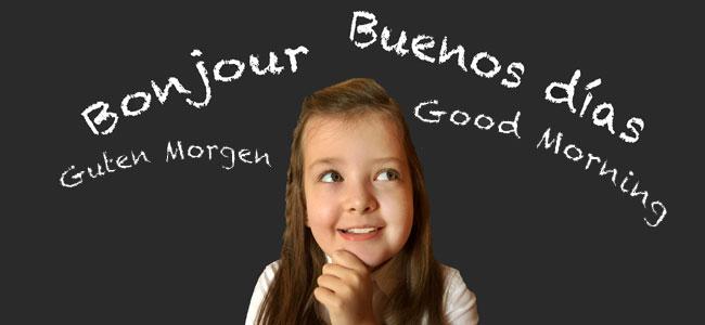 La educación de los niños bilingües