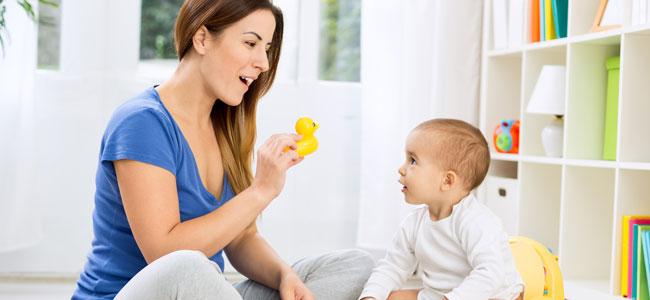 Juegos para ayudar a hablar a tu bebé