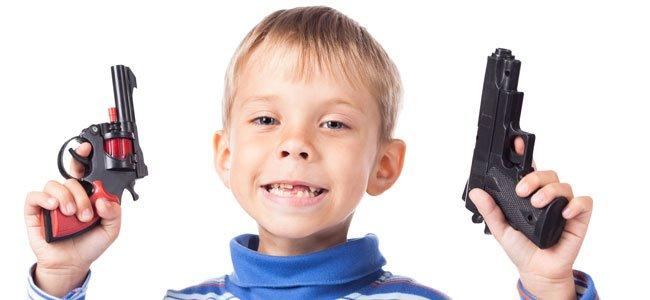 Juguetes bélicos para niños: sí o no
