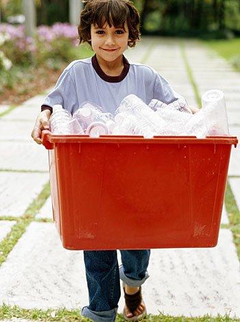 Consejos para que los niños reciclen la basura