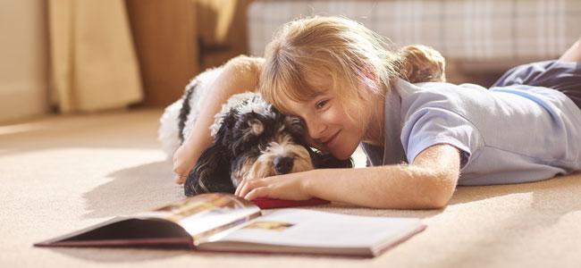 Terapia de leer a los animales