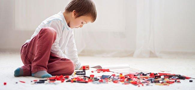 Aprender matemáticas con piezas lego o bloques de construcción