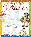 Libros para niños: aprende a dibujar animales y personas