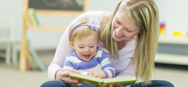 Incentivar en la lectura a los bebés