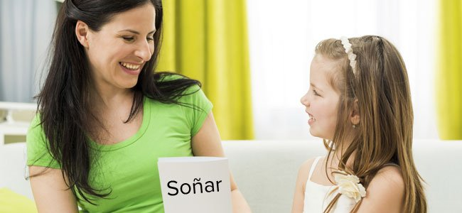 Juego para enseñar los verbos a los niños