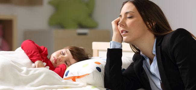 Descubre su sufres agotamiento psicológico desde que eres madre