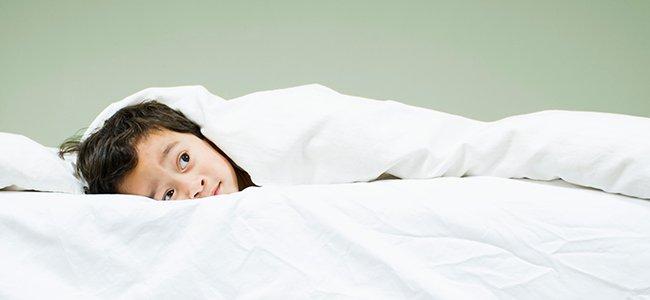 Cuando los niños tienen miedo a dormirse solos