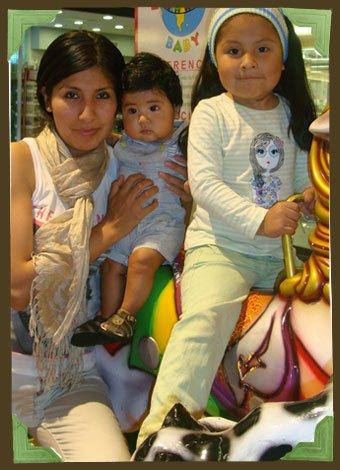 Mamá de Perú viviendo con sus hijos en España