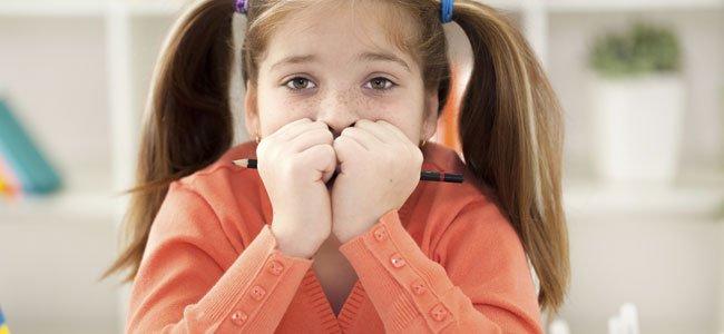 Miedos de los niños ante los exámenes