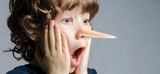 Cómo frenar las mentiras de los niños