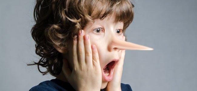Por qué los niños dicen mentiras