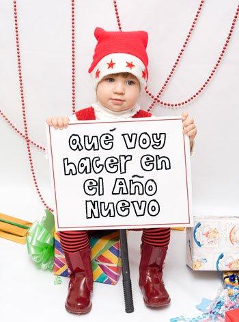 Propósitos de los niños para el Año Nuevo