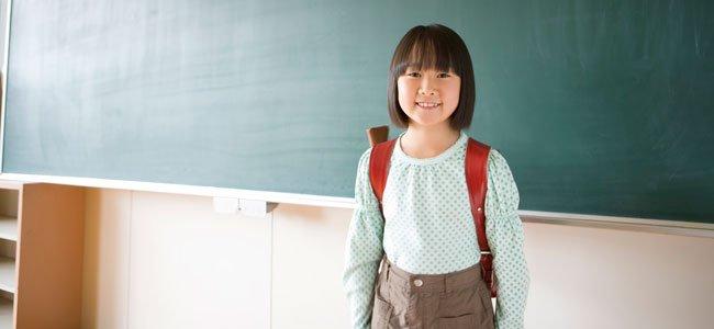 niá china en colegio