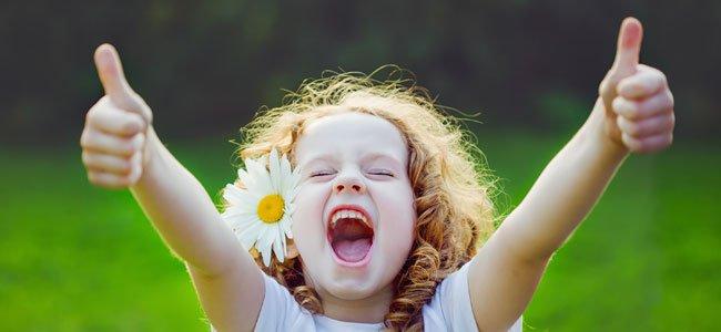 Cómo educar niños felices