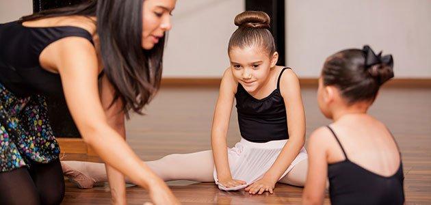 Niñas en ballet