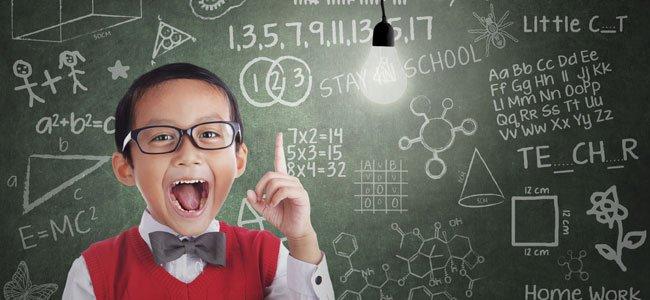 5 claves para que el niño sea más inteligente