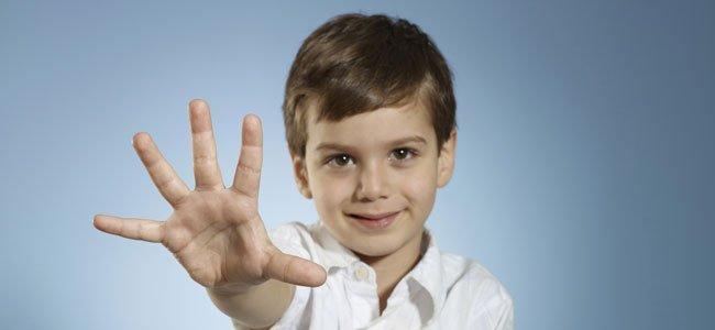 Desarrollo de un niño de 5 años de edad