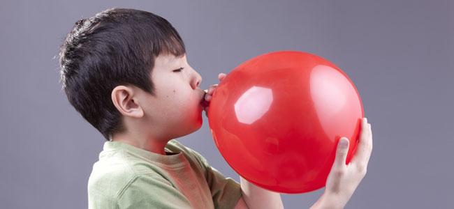 Técnica del globo para niños inquietos