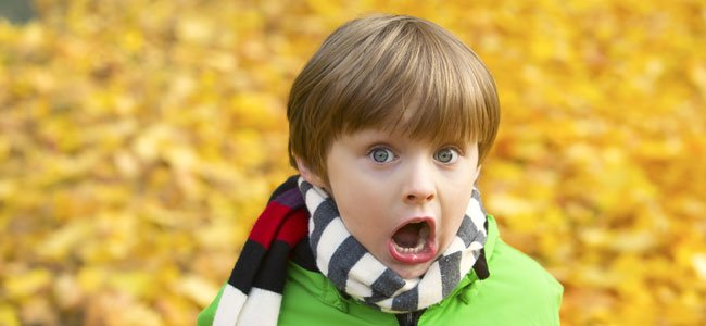 Niño Asustado Gritando: Diferencias Entre Miedo Y Fobia En Los Niños