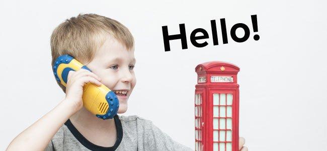 Cómo enseñar al niño a hablar inglés