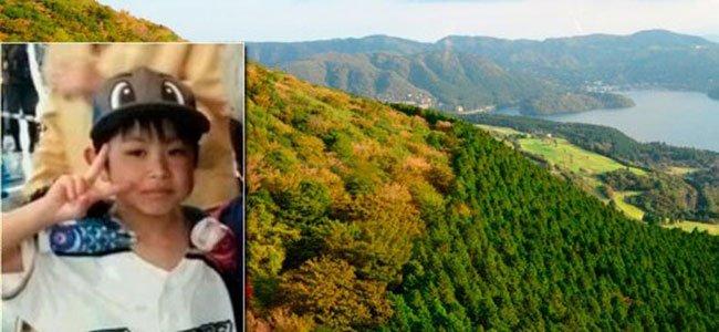 El niño Japonés al que sus padres abandonaron en el bosque