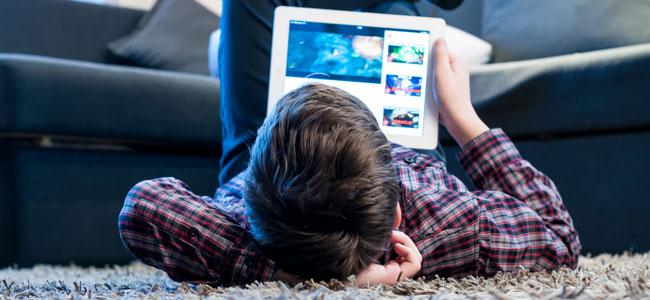 El acceso a internet de los niños