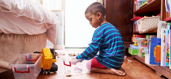 La organizaci n de los juguetes de los ni os - Juegos de recoger casas ...