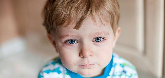 Niño lloroso