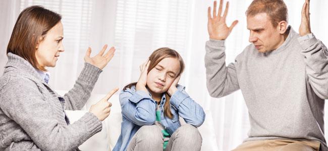 Niños que crecen en un ambiente violento
