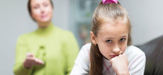El niño se siente incomprendido por sus padres