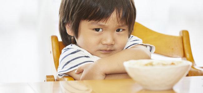Niños con miedo a comer