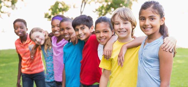 Niños juntos
