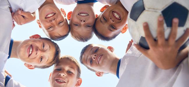 Valores que el deporte transmite a los niños