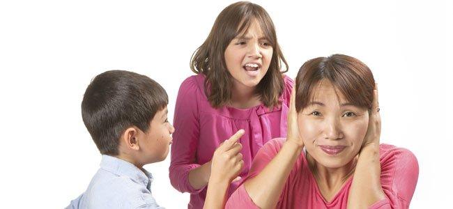 Niños mandan a madre