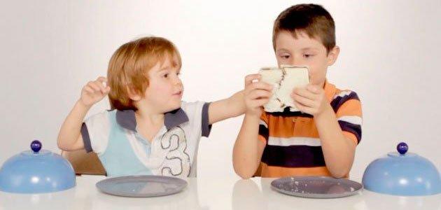 Niños que comparten