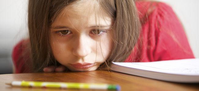 Niños desmotivados que pierden el interés por todo