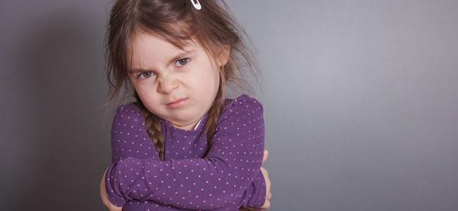 Niños que no controlan sus emociones