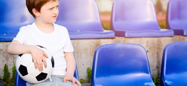 Cuando el niño no quiere hacer deporte