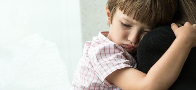 Niños que sufren emocionalmente