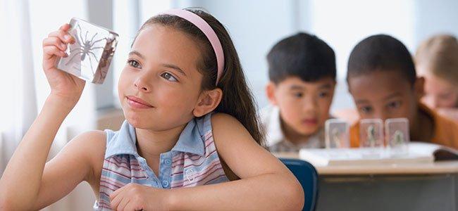Niños y niñas superdotados