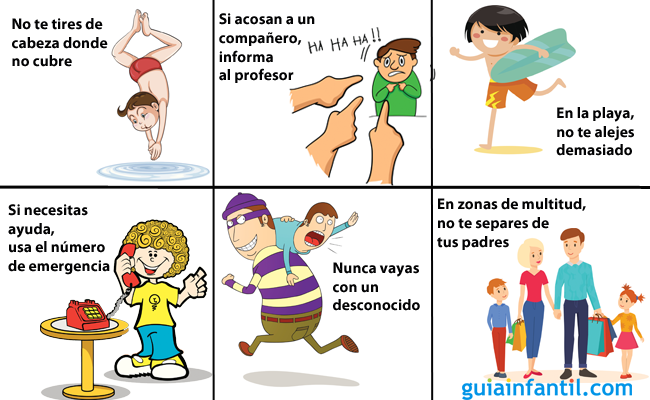 Normas básicas de seguridad para niños