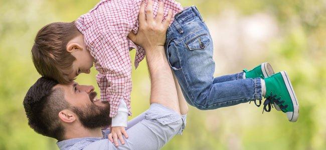 Padre con hijo