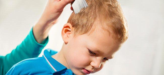Champú para eliminar los piojos de los niños