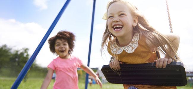 El parque, la mejor extraescolar para los niños
