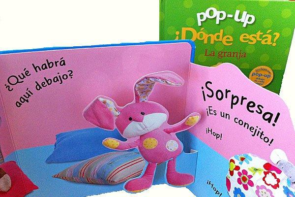 Libros pop-up para niños pequeños y bebés